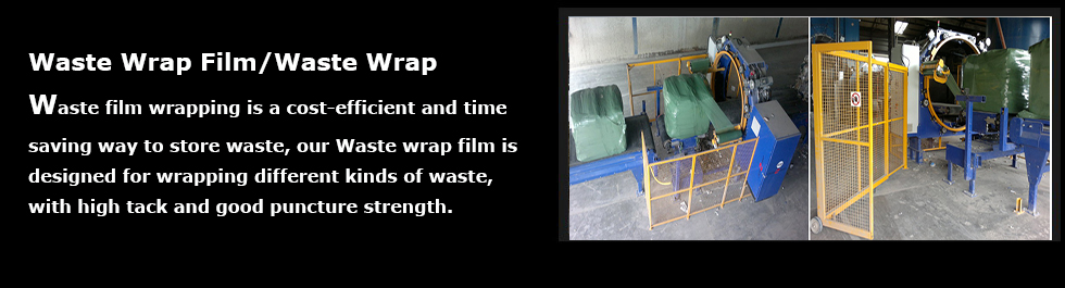 Waste Wrap Film | AGRI
